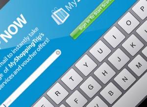 MyShoppingTrip iPad App User Interface