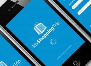 MyShoppingTrip iPhone App User Interface