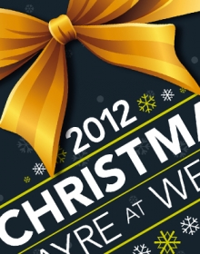 Wergs Golf Club Xmas & New Year Design